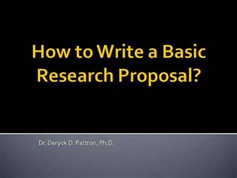 Lecture on how to write a research paper